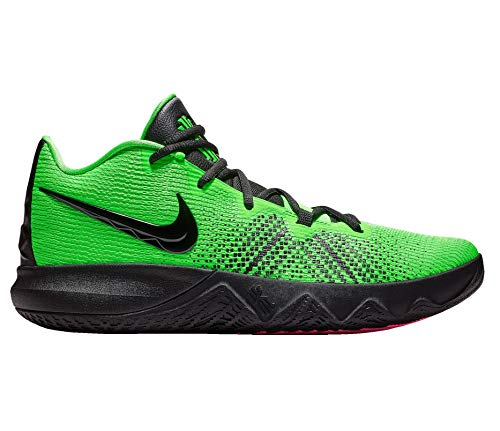Nike Men Kyrie Flytrap Basketball High Top Sneakers from Finish Line, Green/Black/Pink (US 11.5) (Green Top Shoes Nike High)
