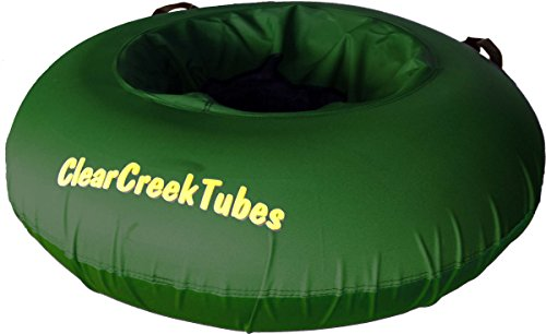 """Towable Colossal 54/"""" Inflated ClearCreekTubes Snow Tube Combo Blue//Blue"""