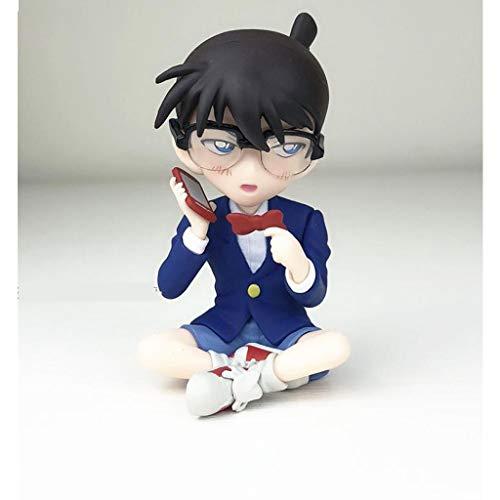 JSSFQK Anime japonés Detective Conan Kudo Nuevo Modelo Estatua Anime decoración Alta 10 cm Juguete