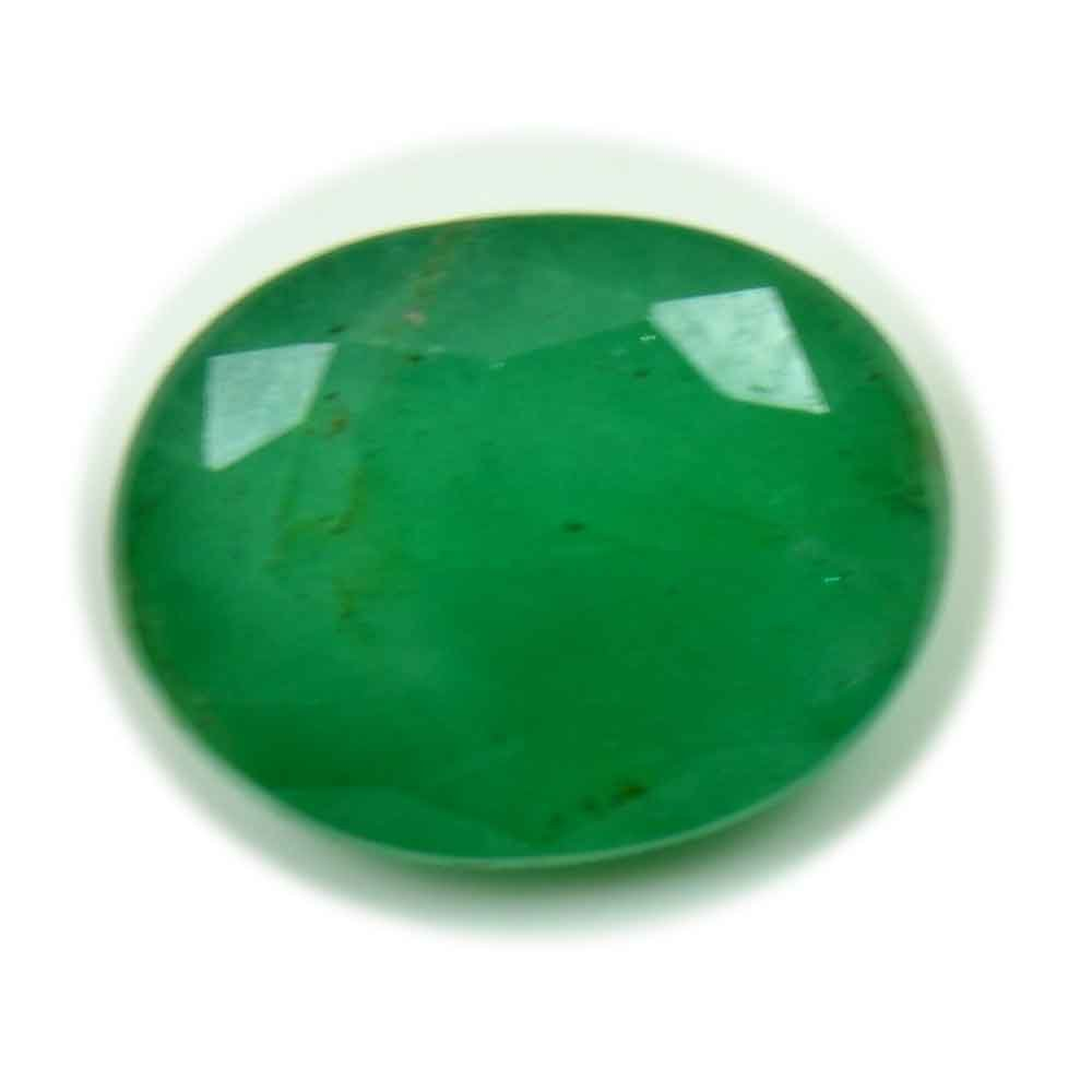 Real Colombian Emerald Loose Gemstone 2.2 Carat Astrological Chakra Healing Green Bead For Jewelry Making Gemsonclick GCPEMELG22