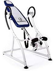 Klarfit Relax Zone Comfort inversiebank ophangbare rugtrainer rugbank (voor het strekken van de wervelkolom, tot 150 kg, verstelbaar, voor alle leeftijdsgroepen, eenvoudige montage)