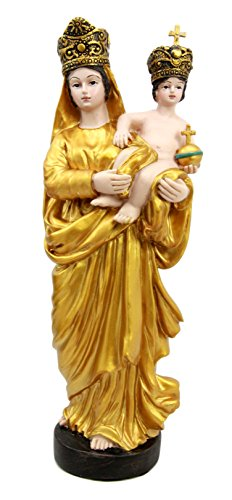 Atlantic Collectibles Our Lady Of Prompt Succor Blessed Virgin Mary With Baby Jesus Catholic Figurine 8.75