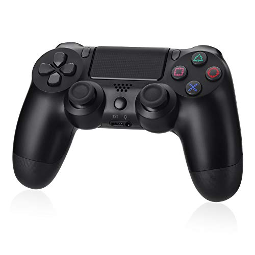 Powerextra PS4 Controller Wireless Gamepad with Audio Function for Playstation 4, Playstation 4 Pro, Windows PC