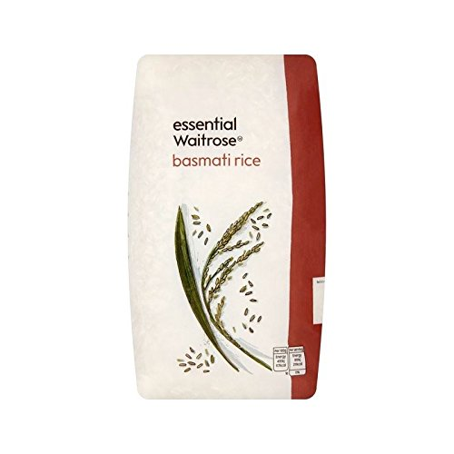 Basmati Rice essential Waitrose 1kg - Pack of 6 by Waitrose Essentials
