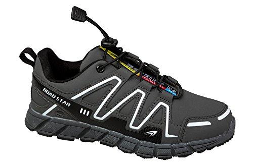 gibra - Zapatillas de running de Material Sintético para hombre gris oscuro