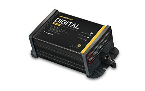 MinnKota MK 106D On-Board Battery Charger (1 Bank, 6 Amps) (Battery Chargers Motor Trolling)
