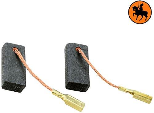 5x8x18mm Balais de Charbon pour BOSCH POF 500 A d/éfonceuse 2.0x3.1x7.1