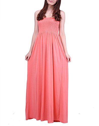 HDE Womens Strapless Dress Sundress
