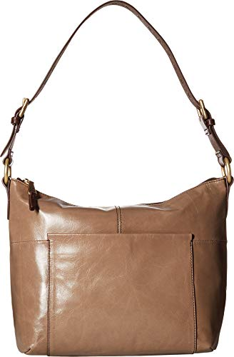 66f1836d8ea Hobo Women s Charlie Vintage Leather Shoulder Bag (Cobblestone)
