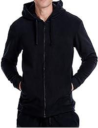 CYZ Men's Polar Fleece Full Zip Hoodies