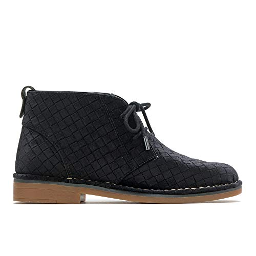 Cyra Boot Black Velvet Catelyn Basket Women's Puppies Hush Ankle ExYvqwzXan