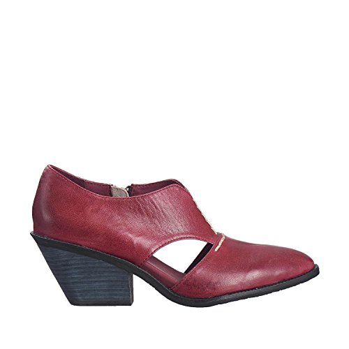Antelope Mujeres 559 Leather Cutout Cowgirl Bordeaux