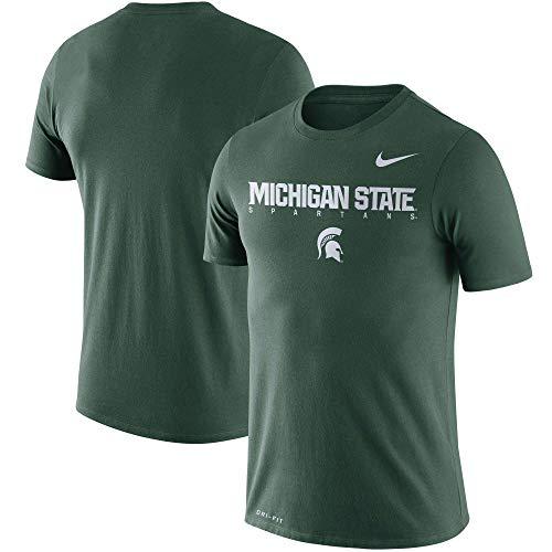 Nike Michigan State Spartans Dri-Fit Cotton Facility T-Shirt (XX-Large)