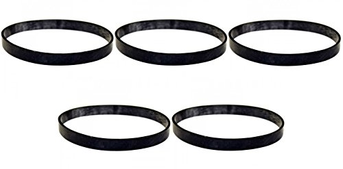 5 Belts for Fantom Thunder & Domestic Upright Vacuums (Fantom Vacuum Cleaner Parts)
