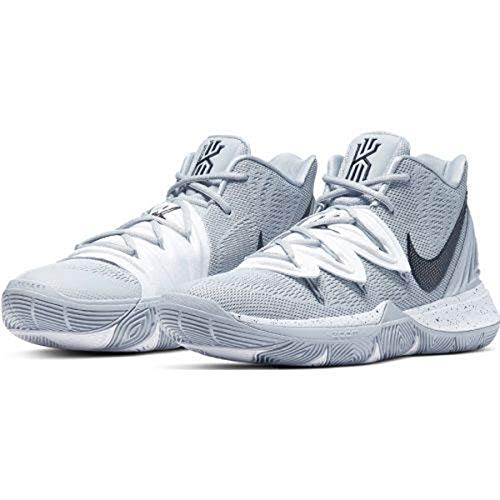 Nike Kyrie 5 Basketball Shoes nkCN9519 001 (11 M US) Wolf Grey/Black