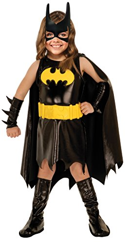 Toddler Bat Girl Costumes (DC Super Heroes Child's Batgirl Costume, Toddler)