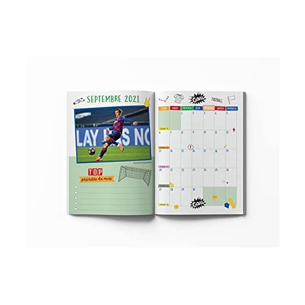 Mon agenda scolaire Foot 2021-2022 3