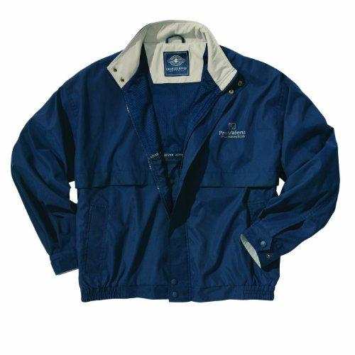 UPC 641712114717, Charles River Apparel Legacy Microfiber Jacket, Navy/Stone, Extra Large Tall