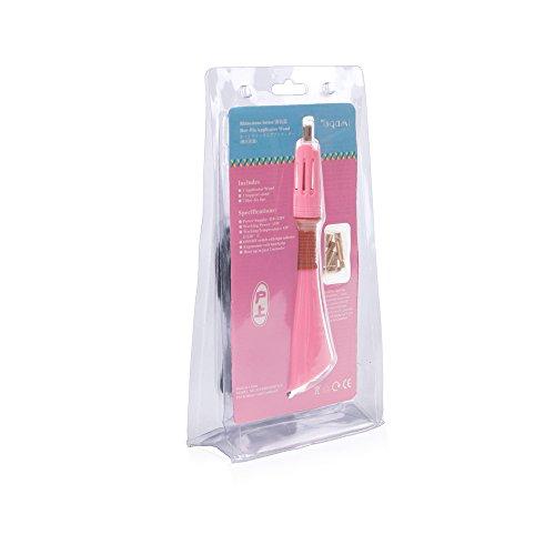 ToGami Hot-fix Rhinestone Setter Hotfix Applicator Wand (Pink) - Pink Hot Fix Rhinestones
