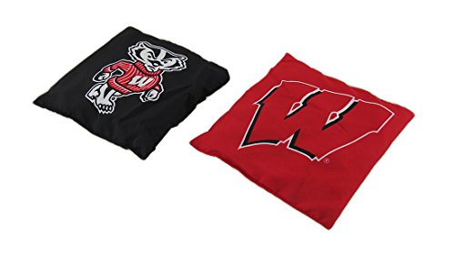 NCAA Wisconsin Badgers Licensed Tailgate Toss Replacement Bags by Wild Sports (Image #1)