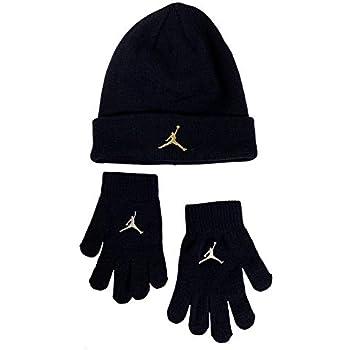 Nike Boy s  Youth (8-20) Jordan Jumpman Hat   Gloves Set Blackened Blue 642831fafa7e