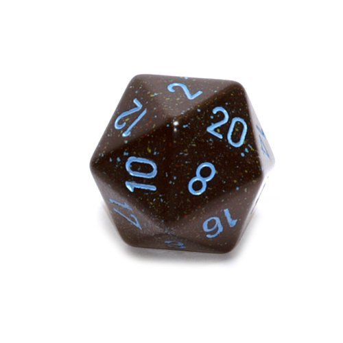 【返品?交換対象商品】 Jumbo d20 Counter - Jumbo Speckled 34mm Dice: B00U1ZUTXC Blue Chessex Stars by Chessex [並行輸入品] B00U1ZUTXC, こわけや:2411ba60 --- egreensolutions.ca