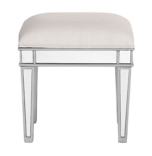 Elegant Lighting Chamberlan Mirrored Dressing (Mirror Stool)
