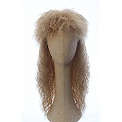 CosplayWigsCom Unisex Costume Halloween Long Yellow Braids Wig