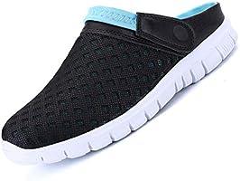Unitysow Hommes Femmes Sabots Mules Respirant Chaussures de Jardin Perforés-Sabot de Plage Sport Pantoufles Piscine...