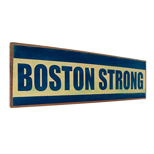 - Venu67Hol Boston Strong Wall Dcor Wood Plaque Sign