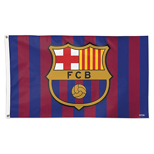 FC Barcelona 3x5 Flag International Soccer Banner (Flag Soccer Team)