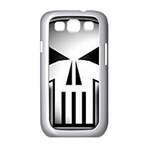 Bloody The Punisher Skull Logo Samsung Galaxy S3 9 Cell Phone Case White persent xxy002_6853699