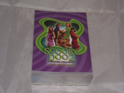 Scooby Doo 2 Monsters Unleashed Trading Card Base Set (Scooby Doo 2 Monsters Unleashed Monsters Cards)