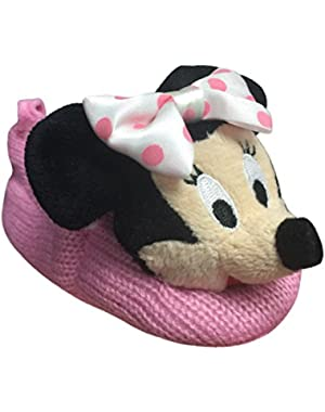 Store Minnie Mouse Plush Slippers Shoes Size 18 - 24 Months 2T 2 years Crochet