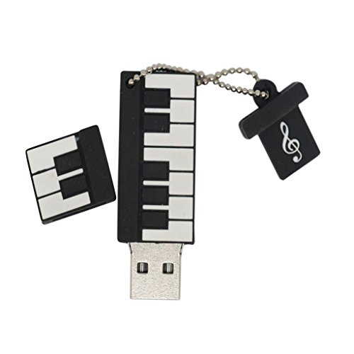 MagiDeal Piano Keyboard Flash Drive Pendrive Memory U Disk 1