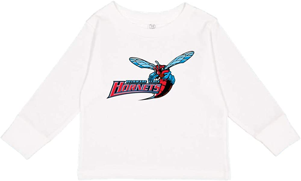 NCAA Delaware State Hornets PPDEU01 Toddler Long-Sleeve T-Shirt