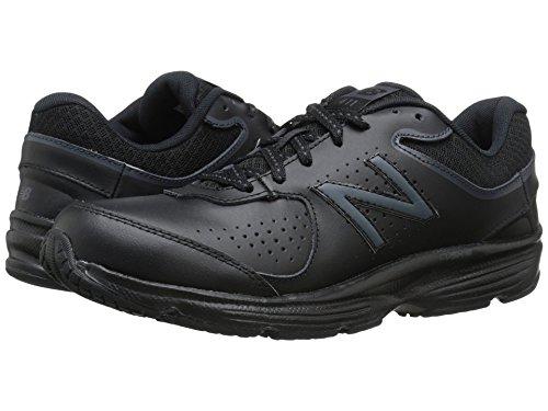 (ニューバランス) New Balance レディースウォーキングシューズ?靴 WW411v2 Black 5 (22cm) 2A - Narrow