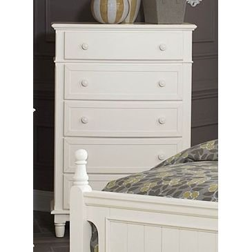 (Clementine Antique White Wood Chest by Homelegance)