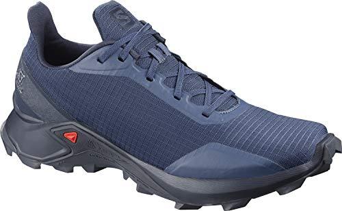 Salomon Men's Alphacross Trail Running Shoes, Sargasso Sea/Navy Blazer/India Ink, 12 (Best Running Shoes India)