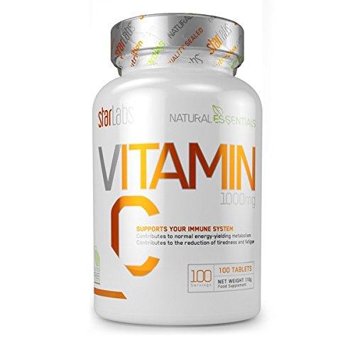 StarLabs Natural Essential - Vitamin c 1000mg - 100 tabs