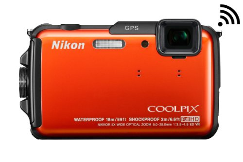 Nikon Waterproof Digital Camera Aw110 - 1