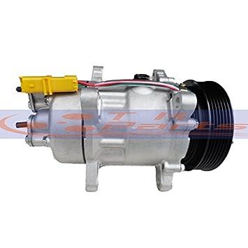 tkparts nuevo a/c compresor 9682930280 para Peugeot 206 307 406 607 806: Amazon.es: Coche y moto