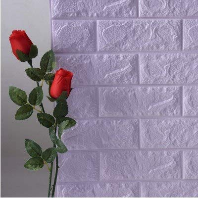 1 piece 70x77cm PE Foam 3D Wall Stickers Safty Home Decor Wallpaper DIY Wall Decor Brick Living Room Kids Bedroom Decorative Sticker -