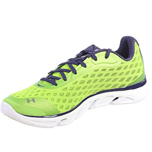 UNDER-ARMOUR-MENS-ATHLETIC-SHOES-SPINE-RPM-LIME-GREEN-NAVY-WHITE-16-M