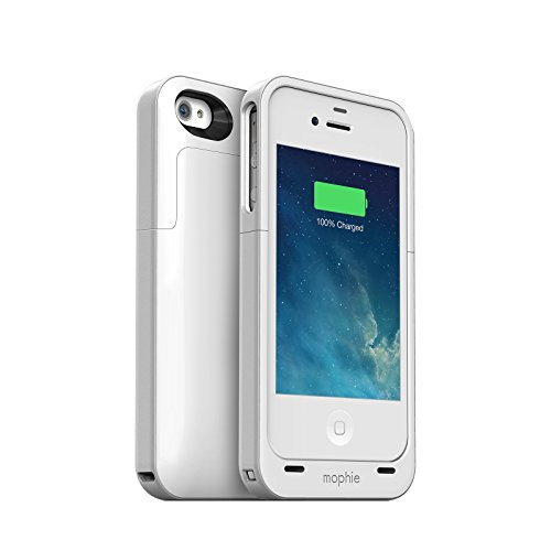 (Mophie Juice Pack Air Case and Rechargeable Battery for iPhone 4 - White (Certified Refurbished))