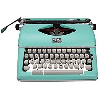 Royal 79101t Classic Manual Typewriter (mint Green)