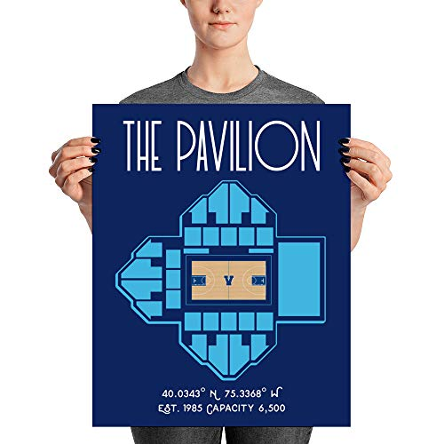 - Villanova University Basketball The Pavilion Poster