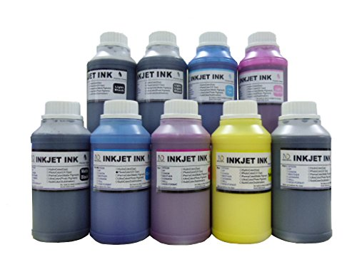 ND R@ 9x250ml Bulk Compatible Pigment Ink for Stylus Pro 3800, 4800, 7800, 9800 (includes Matte Black)