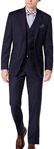 スーツ ストライプ メンズ 3ピースビジネス 大きいサイズ オシャレ 裾上げ済