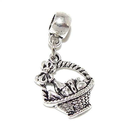Pro Jewelry Gift Basket Bead Compatible with European Snake Chain Bracelets